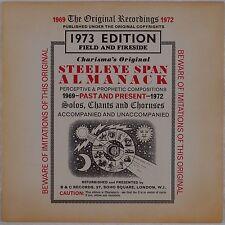 STEELEYE SPAN: Almanack UK Charisma 1U ORIG Vinyl LP NM-