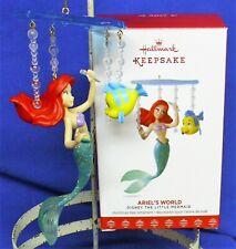 Hallmark Ornament Disney The Little Mermaid Ariel's World 2017 Flounder Fork NIB