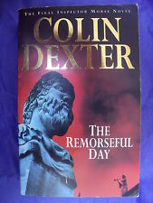 COLIN DEXTER THE REMORSEFUL DAY Inspector Morse paperback