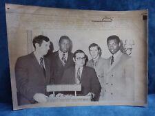 1970 AP Wire Photo Oscar Robertson Willis Reed Merger Photo