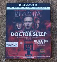 STEPHEN KING DOCTOR SLEEP 4K ULTRA + BLURAY + DIGITAL CODE W/SLIPCOVER BRAND NEW