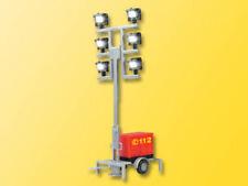 Viessmann 1344 Leuchtgiraffe Feuerwehr auf Anhänger mit 6 LED weiß H0 5144 Neu