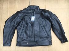 "AKITO ' X FORCE' Mens Leather Motorcycle Motorbike Jacket UK 40""  Chest (LB1)"