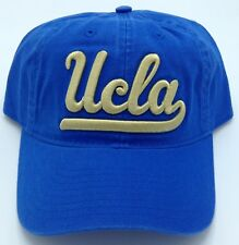 5a3b2b43d1f5c NCAA UCLA Bruins Adidas Adult Adjustable Fit Slouch Curved Brim Cap Hat NEW!