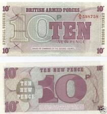 Note British Banknotes with Uncirculated