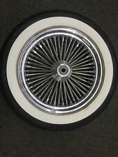 "Ride Wright Harley Davidson Wheel 16"" Softail Fat 50 Spoke Tubeless Wheel Front"
