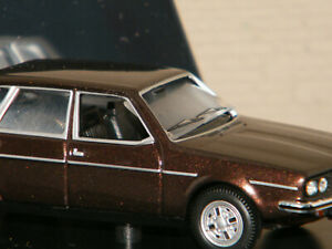 RENAULT 30 TS MARRON 1976 NOREV 1/43 REF 513001 pour pièces