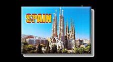 Barcelona Sagrada Familia Kirche Foto Magnet Spanien Spain Souvenir Fridge,Neu