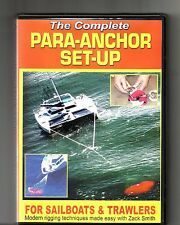 THE COMPLETE PARA-ANCHOR SET-UP (2003, DVD) Zack Smith: Sailboats & Trawlers