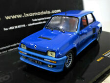 1/43 IXO 1:43 Renault 5 Turbo 1982 Blue. Mint and boxed. CLC141.