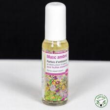 Parfum d'ambiance aux huiles essentielles - Musc ambré