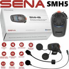 SENA SMH5 Motorrad Headset Einzelset Bluetooth Kommunikation Intercom bis 400m