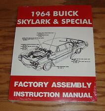 1964 Buick Skylark & Special Factory Assembly Instruction Manual 64
