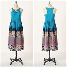 6e5bc6d1a005 NEW Anthropologie Moulinette Soeurs ISLAND NIGHTFALL Floral Maxi Dress - 4 S