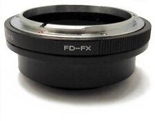 Totalmente nuevo adaptador de montaje para lentes Canon FD Para Fujifilm X Cámaras digitales