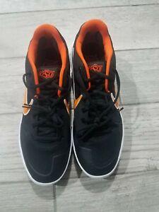 Nike Alpha Huarache Elite 2 Baseball Cleats AV2470-003 Size 11 Oklahoma State