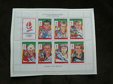 Saint Vincentian Olympics Sports Postal Stamps