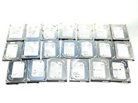"LOT OF 20 - Seagate Barracuda 160GB SATA 3.5"" HDD Desktop Hard Drives - TESTED"