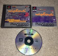 Wipeout Boxed And Complete Sony PlayStation 1 PS1 Game