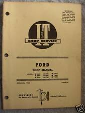I&T FORD 8000,8600,8700,9000,TW-10, TRACTOR SHOP MANUAL