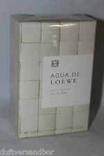 Agua de Loewe 50 ml Eau de Toilette Spray Nuovo/Scatola Originale