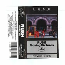 Rush Moving Pictures Classic Album Stereo Cassette Tape Polygram (1981)