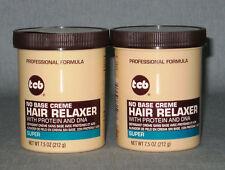 2 x tcb-hair indio super-glättungscreme con proteína y ADN-mild - 424 G