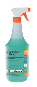 Actoanid Spray 1L Schnelldesinfektion Flächendesinfektion alkoholfrei1,15€/100ml