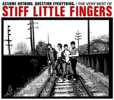 STIFF LITTLE FINGERS - ASSUME NOTHING QUESTION 2 CD NEUF