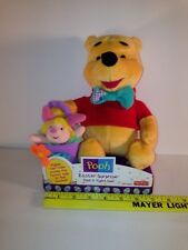 Winnie the Pooh And Piglet Too! Fisher-Price Easter Surprise Plush Stuffed Bear