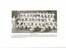 Red Sox 1957 Team Picture Ted Williams Jim Piersall Dave Boo Ferriss Tom Brewer