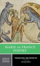 Marie de France: Poetry (Norton Critical Editions), de France, Marie, New Book