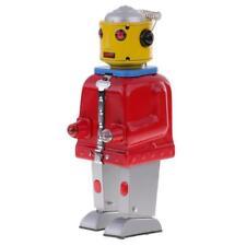 Retro Wind Up Metal Walking Planet Mr.Robot Clockwork Jouets en étain