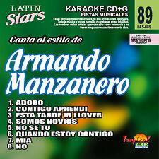 Karaoke Latin Stars 89 Armando Manzanero Vol. 1