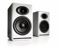 Audioengine AP4 Passive Bookshelf Speakers White