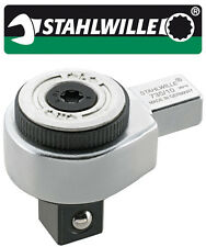 Stahlwille Ratchet Insert Tool 9 x 12 mm 1/2 Inch Drive - 735/10 - 58250010