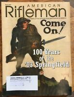 American Rifleman Mag March 2003 NRA 100 Years 1903 Springfield, War Bond Poster