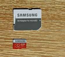 Samsung 32GB Micro SD Card SDHC Evo Plus