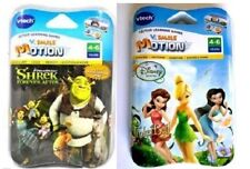 LOT of 2 :   V.SMILE MOTION,  TINKER BELL & SHREK FOREVER AFTER GAMES