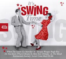 CD It 's Swing Time de Various Artists 4cds