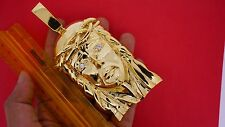 220 Grams 10k Solid Gold Giant 5 inch Jesus Face Pendant Best Price Video ASAAR