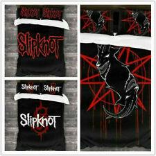 Slipknot 3D Printed Bedding Set 2/3Pcs Duvet Cover & Pillowcase(s) UK2