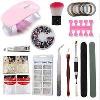 36W Nail Lamp LED UV Light Gel Polish Nail Dryer Manicure Curing Machine Set Kit