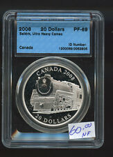2010 'Selkirk Locomotive' Proof $20 Silver 1oz .9999 Fine CCCS PF-69 Proof A389