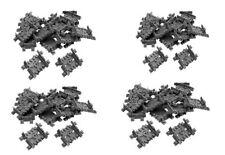 LEGO® City  Eisenbahn  64 x Flex Schienen  Beweglich gerade oder gebogen