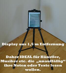 Ständer/Stativ Ipad Tablet ipega tripod iPad1/2/3 für Musiker verstellbarer