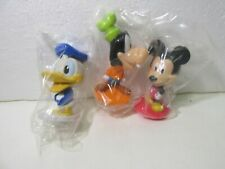 Kellogg's Set Of 3 Disney's Mickey Mouse & Friends Bobble Head Cereal Toy t5029