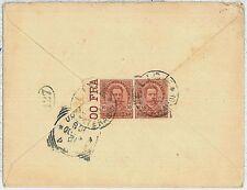 ITALIA REGNO: BUSTA con annullo ELICE - TERAMO (Pescara?) 1900