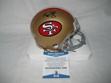 best service 62c49 5cd5b Ronnie Lott Autograph In Nfl Autographed Football Helmets ...