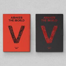 WAYV [AWAKEN THE WORLD] 1st Album CD+Photo Book+Fold Poster+2p Card K-POP SEALED